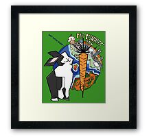 Big City Bunnies Framed Print