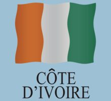 Ivory Coast flag One Piece - Short Sleeve