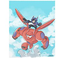 BIG HERO 6 Photographic Print