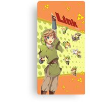 Legend of Zelda: Link time Canvas Print