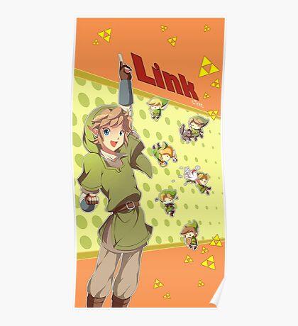 Legend of Zelda: Link time Poster