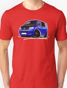 VW T5 (A) Blue T-Shirt
