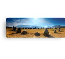Castlerigg Stone Circle Panorama Metal Print