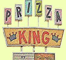 PRIZZA KING Design by SmashBam by SmashBam