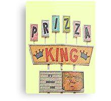 PRIZZA KING Design by SmashBam Metal Print