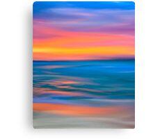 The Sea & Distant Horizons Canvas Print
