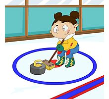 Winter Sports: Curling Photographic Print
