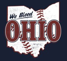 We Bleed Ohio - Logo Tribe Blue Kids Clothes