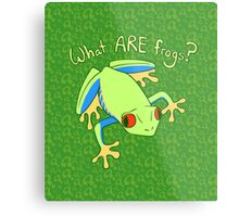 What ARE Frogs? (Tree edition) Metal Print
