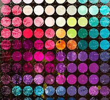 Colorful abstract diameter circles by smotrivnebo