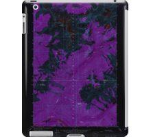 USGS Topo Map Washington State WA Downey Mtn 240893 1963 24000 Inverted iPad Case/Skin