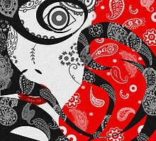 The Paisley Woman (Red) by creativenergy