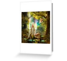 Faerie Queen of Light Greeting Card