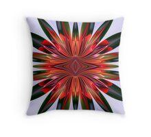 Complex Flower Throw Pillow