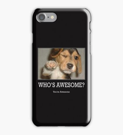 Who's Awesome iPhone Case/Skin