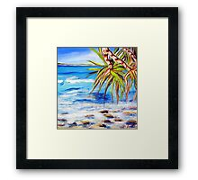 Straddie Views Framed Print