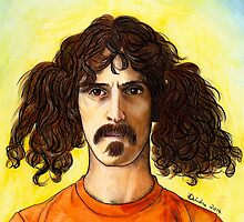Frank Zappa by iamdeirdre