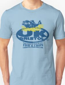 UK BRISTOL FISH & CHIPS BY ROGERS BROS T-Shirt
