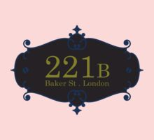 221B Baker St One Piece - Long Sleeve