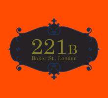 221B Baker St Kids Tee