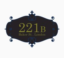 221B Baker St Kids Clothes