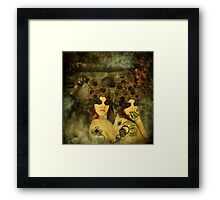 Companions in clockwork Framed Print