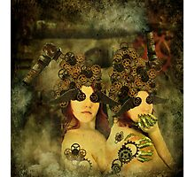 Companions in clockwork Photographic Print