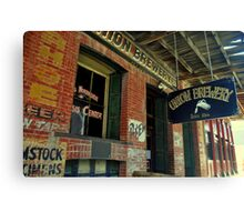 Virginia City Brewery Canvas Print