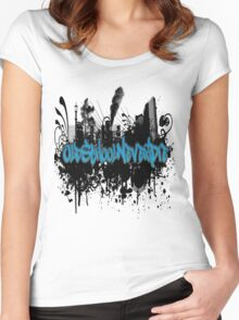Old School Never Die Women's Fitted Scoop T-Shirt