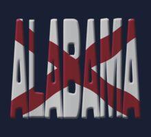 Alabama flag by stuwdamdorp