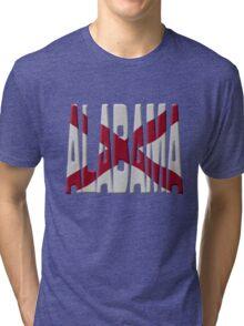 Alabama flag Tri-blend T-Shirt