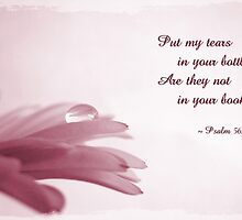 Tears in Your Bottle (Card) by Tracy Friesen