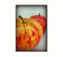 Fresh Apples Art Print