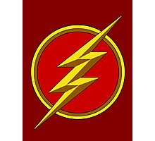 The Flash - Season 1 logo Photographic Print
