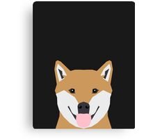 Indiana - Shiba Inu gift design for dog lovers and dog people Canvas Print