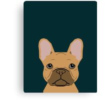 Willow - French Bulldog phone case art design for dog lovers and dog people Canvas Print
