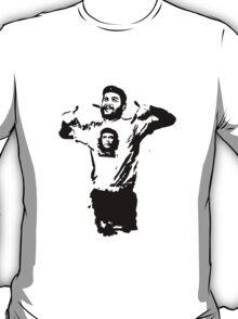 Che wearing Che T-Shirt