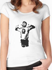 Che wearing Che Women's Fitted Scoop T-Shirt
