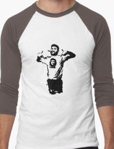 Che wearing Che Men's Baseball ¾ T-Shirt
