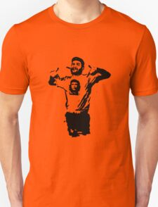 Che wearing Che Unisex T-Shirt