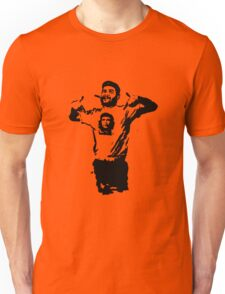 Che wearing Che Unisex T-Shirt