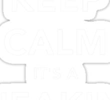 Keep calm Snake! Sticker