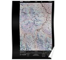 USGS Topo Map Washington State WA Bedal 20110425 TM Inverted Poster