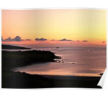 Sherkin Island - Bay Sunset Poster