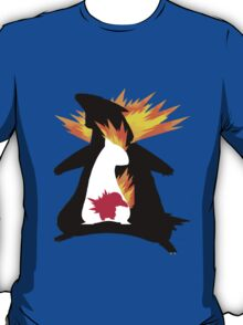 Cyndaquil evolution chart T-Shirt