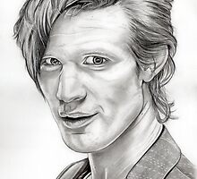 Matt Smith (Dr Who) by Emily Hitchcock