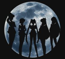 Sailor Moon Silhouettes by A-aru