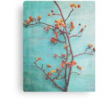 She Hung Her Dreams on Branches Canvas Print
