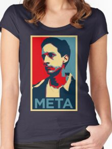 Meta Women's Fitted Scoop T-Shirt