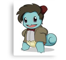 Squirtle Who Canvas Print